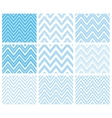 Set of Herringbone Zigzag Seamless Patterns vector image