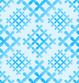 Soft blue crosses seamless pattern - abstract vector image vector image