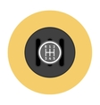 Manual Transmission flat icon vector image