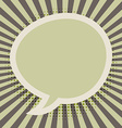 bubble speech design vector image