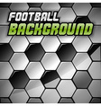 Football Background vector image