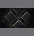 abstract layered geometric shape background vector image