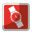 hand watch icon image vector image