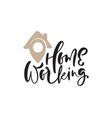 Home working calligraphy lettering geotag