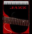 jazz club vector image vector image
