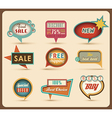Retro speech bubbles vector | Price: 3 Credits (USD $3)