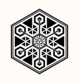 sacred geometry 0070 vector image vector image