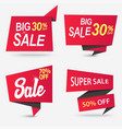 sale shop product tag label or sale poster vector image vector image