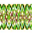 seamless geometric pattern based on ikat fabric vector image vector image