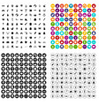 100 children icons set variant vector image vector image