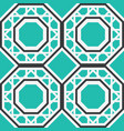 asian geometric pattern vector image vector image
