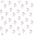 Floral pink pattern vector image