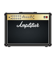 guitar combo amplifier amp vector image