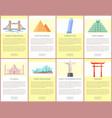london tower bridge web set vector image