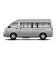 minibus car vector image vector image