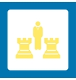 Strategy icon vector image vector image