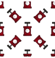 Bomb flat icon pattern vector image vector image