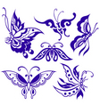 butterfly illustration vector image vector image