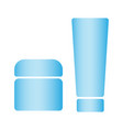 cosmetics bottle product set of cosmetic vector image