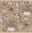 cozy fall autumn doodle vector image vector image