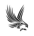 eagle tattoo animal design vector image vector image