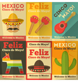 mexico posters vector image