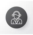 call center icon symbol premium quality isolated vector image vector image