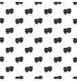 Comedy and tragedy masks pattern simple style vector image vector image
