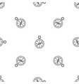 compass pattern seamless vector image vector image