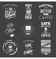 set vintage wine typographic quotes vector image vector image