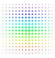 water service shape halftone spectrum pattern vector image vector image