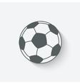 soccer sport icon vector image