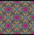 abstract bohemian oriental gravel ethno pattern vector image vector image
