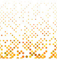 abstract circle pattern background with small dots vector image