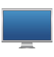 blank lcd monitor vector image vector image