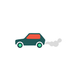 Car smoke Icon vector image vector image