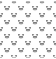 Panda pattern simple style vector image vector image