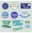 Quality badges collection vector image vector image