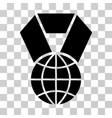world award icon vector image vector image