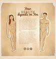 health care concept vector image