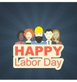 day work in america vector image