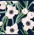 hellebore anemone vector image vector image