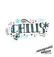 menopause symptoms doodles vector image vector image