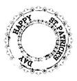 patrick grunge stamp v2 vector image