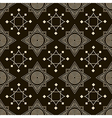 Seamless antique pattern ornament geometric stylis vector image vector image