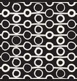 seamless childlike pattern monochrome hand vector image vector image