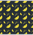 seamless pattern with cheese on a dark background vector image vector image