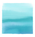 watercolour seascape background vector image vector image