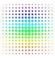 web browser icon halftone spectrum pattern vector image