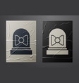 white motion sensor icon isolated on crumpled vector image vector image